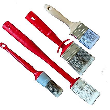 Rotix Anillo Pincel Radiador Pincel para pintar (Brocha plana para ...