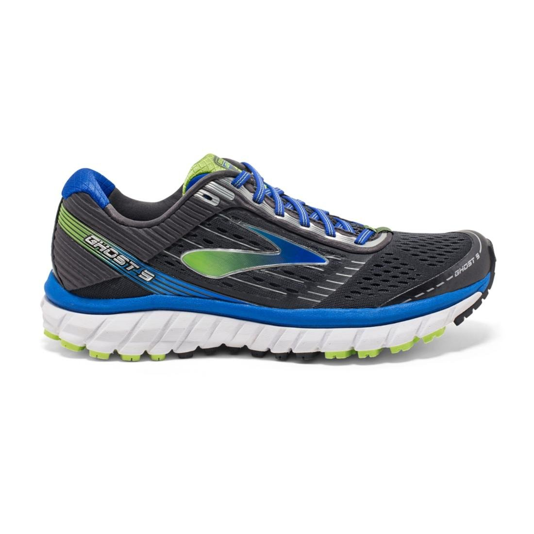 [ブルックス] BROOKS メンズ ランニングシューズ ゴースト9 B017N04D5M 14 EE - Wide|Anthracite/Blue Anthracite/Blue 14 EE - Wide