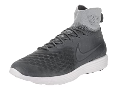 00e2d4712 Nike Men s Lunar Magista II FK Dark Grey Dark Grey Wolf Grey Training Shoe