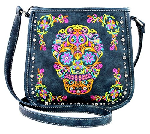 Black Crossbody West Collection Sugar Montana Skull Handbag ZwSF5Xqx