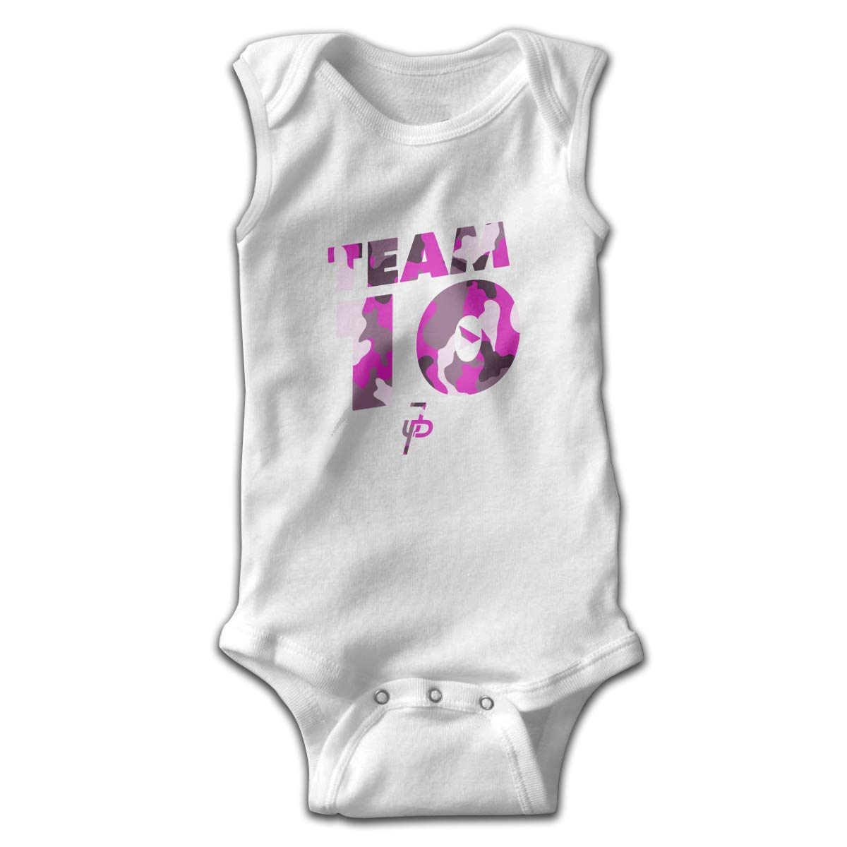 Kddcasdrin Jake Paul X Team 10 Pink Sleeveless Bodysuits Rompers Outfits