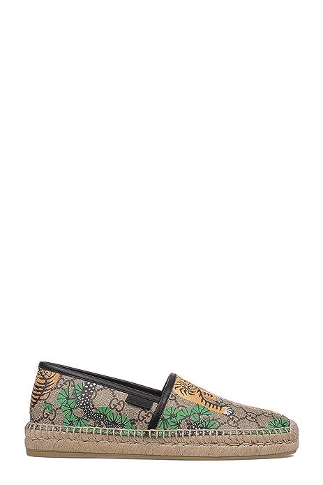 l'ultimo ecf0b 7353a Gucci Men's 451198K6D408683 Beige PVC Espadrilles: Amazon.ca ...