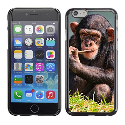 Premio Sottile Slim Cassa Custodia Case Cover Shell // V00003912 chimpanzé penser // Apple iPhone 6 6S 6G 4.7""