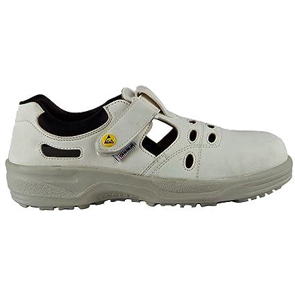 Cofra NEW JACK S1 ESD SRC par de zapatos de seguridad talla 35 BLANCO