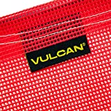 VULCAN Safety Flag with Wire Loop - Bright Red