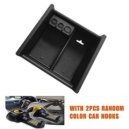 RealTX for Toyota 4Runner Console Organizer, Fit Toyota 4Runner 2010-2019  Center Console Insert Tray Armrest Storage Box