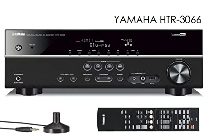 Yamaha HTR-3066 Home Theater Receiver HDMI 3D YPAO USB connection for Ipod Iphone Ipad