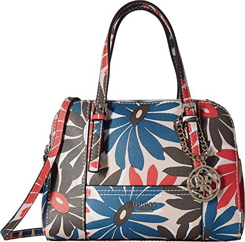 GUESS Women's Huntley Small Cali Satchel Floral Multi One - The Brand 24 Guess