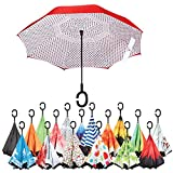Sharpty Inverted Umbrella, Umbrella Windproof, Reverse Umbrella, Umbrellas for Women with UV Protection, Upside Down Umbrella With C-Shaped Handle Review