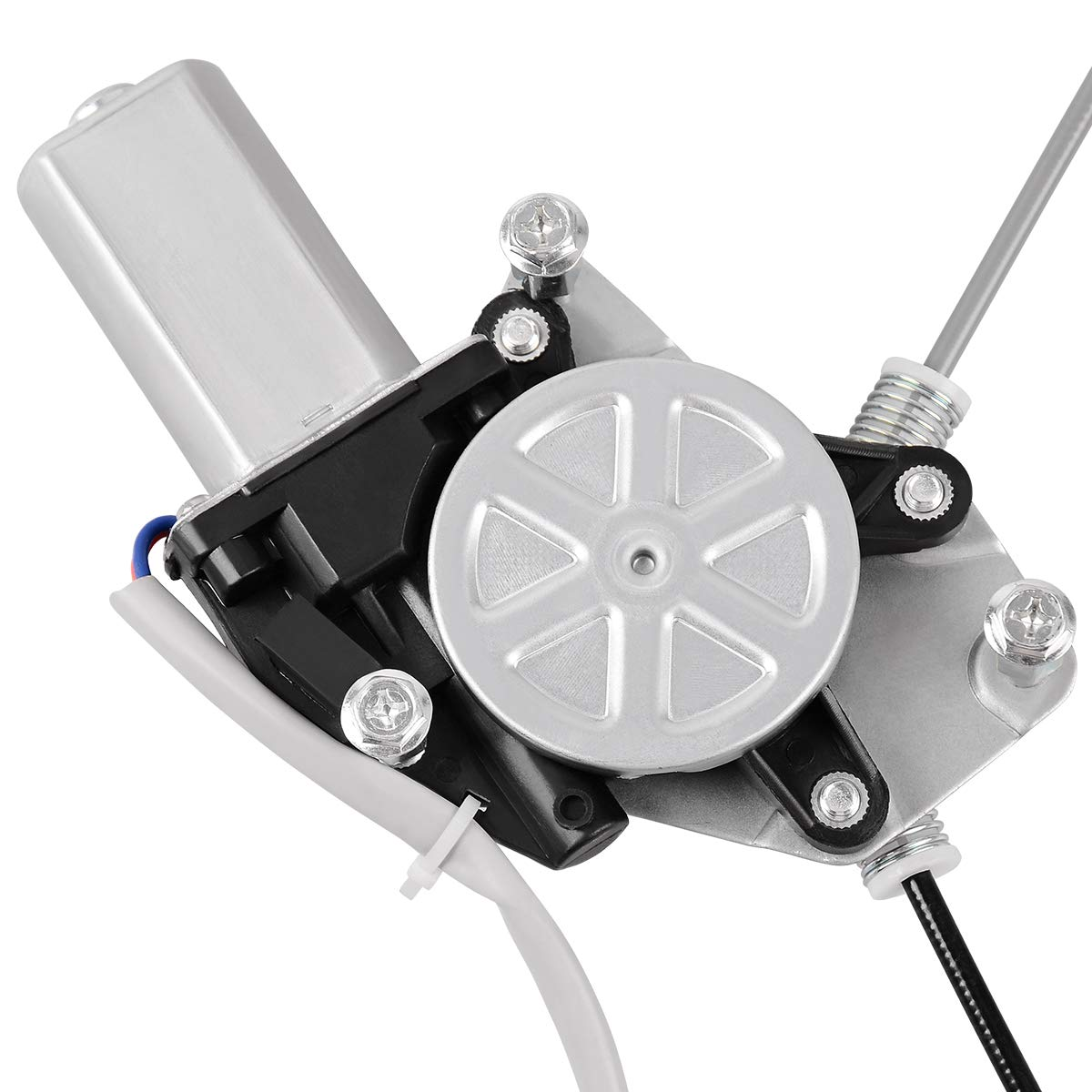 Power Window Regulator With Motor Assembly for 2003-2008 Honda Pilot Front Right RH Passenger Side 2 Pin Connector.