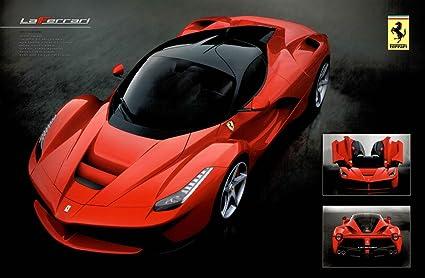 Ferrari Laferrari Sport Car Poster 36x24 Inch
