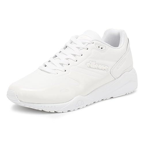 Ls360 Uomo Bianco Scarpe Sneaker Mono E Amazon Ellesse Borse it 7fZxFqx