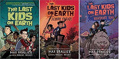 [The Last Kids on Earth] and the Nightmare King; and the Zombie Parade (The Last Kids on Earth Series 3 Book Set](Max Brallier The Last Kids on Earth Series)