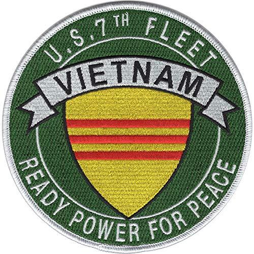 7th Fleet Vietnam Patch Ready Power For Peace