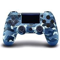 Controlador sem fio PS4, com Joystick de Jogo Campo de Vibração Dupla, Compatível com Console Playstation 4/Slim/Pro…