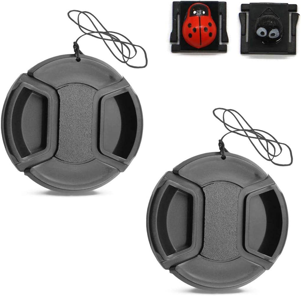 + Lens Cap Holder Sony Alpha A5000 Lens Cap Center Pinch 67mm Nw Direct Microfiber Cleaning Cloth.