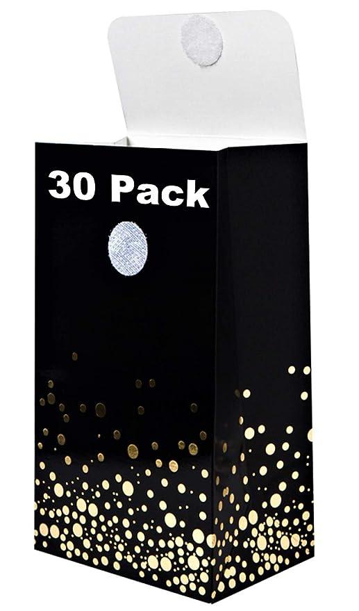Amazon.com: Bolsas de regalo pequeñas negras y doradas – 30 ...