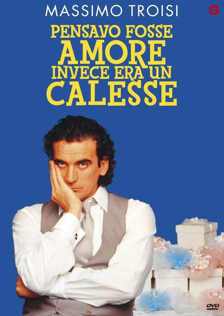 Pensavo Fosse Amore Invece Era Un Calesse: Amazon.it: Troisi,Neri,  Troisi,Neri: Film e TV