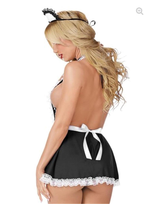 SxyBox Colegiala//Enfermera Picardias Disfraces Schoolgirl Lencer/ía Vestido