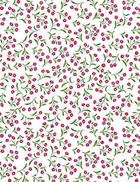 9.5 x 6.5 Small Flowers Sanbao Studio Ceramic Decals