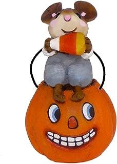 product image for Wee Forest Folk Halloween Mouse Li'l Jack O' Lantern