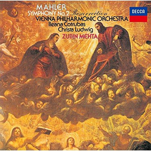 SACD : MEHTA,ZUBIN - Mahler: Symphony 2 (Limited Edition, Direct Stream Digital, Super-High Material CD, Japan - Import, Single Layer SACD)