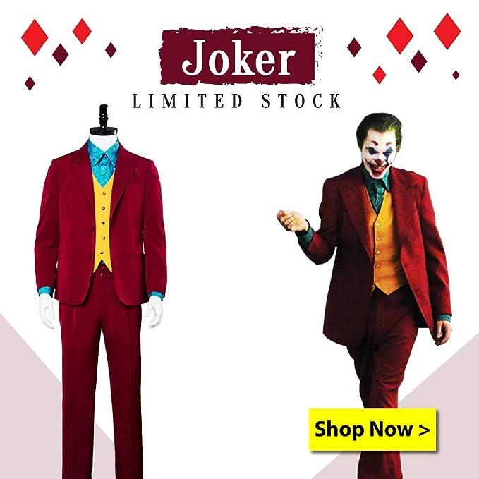 Amazon.com: Joaquin Phoenix - Chaqueta de terciopelo para ...