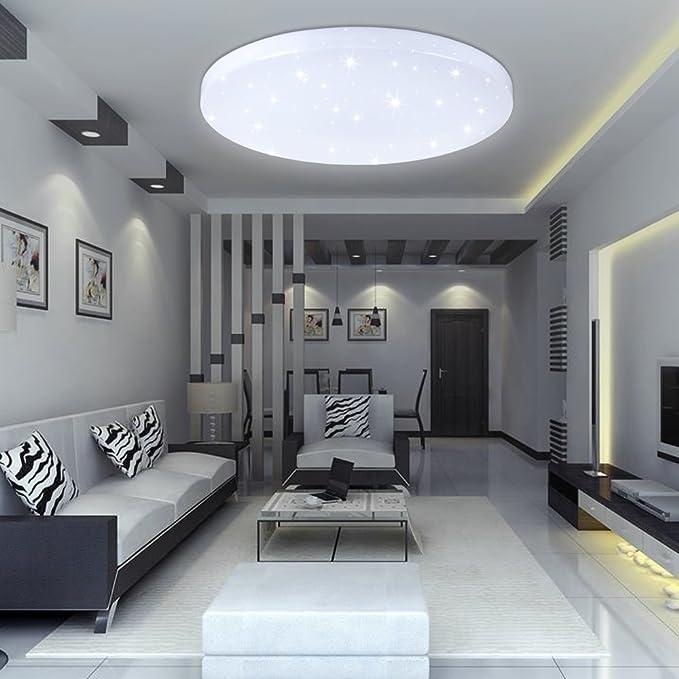 Deckenleuchten 16w Led Deckenlampe Deckenleuchte Wohnzimmer Weiss Badleuchte Starlight Xoticdreamcars
