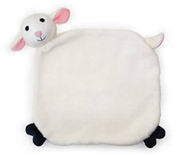 Apple Park Lamby Picnic Pal Organic 15 X 12 Blankie