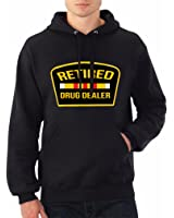 Rob Stees Retired Drug Dealer Black Streetwear Adjustable