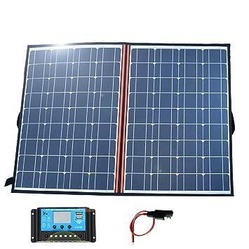 YEDENGPAO Cargador Solar, Cargador De Panel Solar De 110 ...