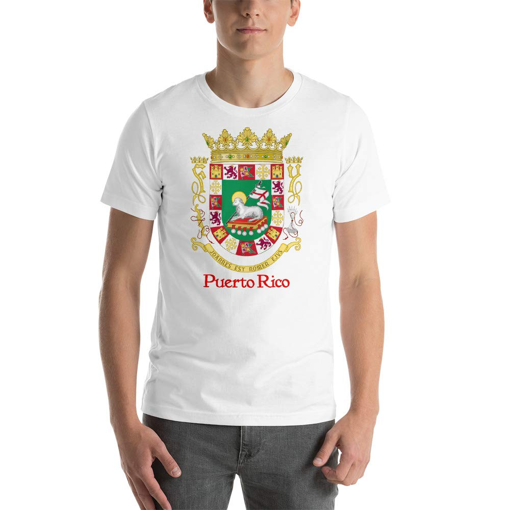 Shield of Peurto Rico Short-Sleeve Unisex T-Shirt