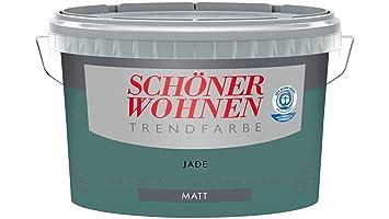 Perfekt Schöner Wohnen Trendfarbe 2,5 L Farbton Jade Matt