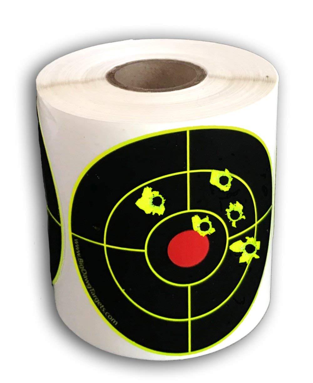 Big Dawg Targets 250 Target Roll - 3'' Inch Adhesive Splatter Target