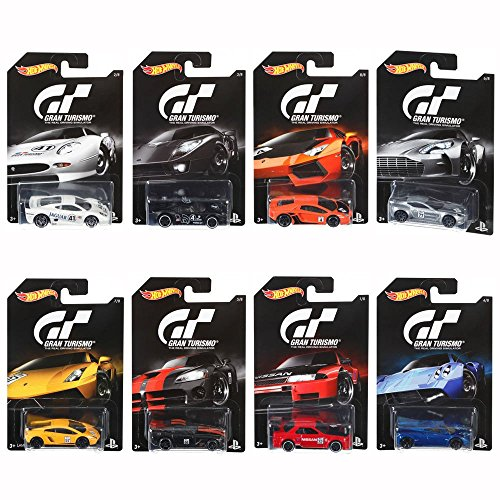 Hot Wheels Gran Turismo assorted collection set 8 model a total of 12 units, input [Japan Genuine] (DJL12)