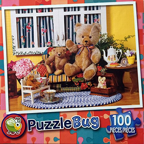 PuzzleBug 100 Piece Puzzle - Tea Time by LPF