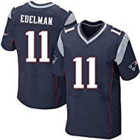 Camiseta Jersey Futbol 11# Edelman New England Patriots Majestic NFL Player T-Shirt