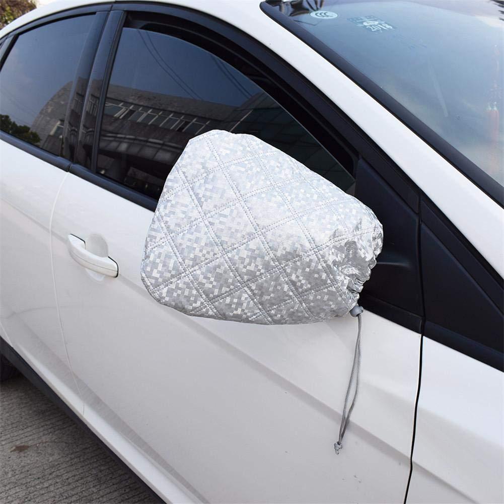 greatdaily 2PCS Universal-Auto-R/ückspiegel Schutzh/ülle Auto Seitenspiegelabdeckung Schnee- Und Regenbedeckung Sch/ützen Sie Ihren Seitenspiegel Vor Kratzern