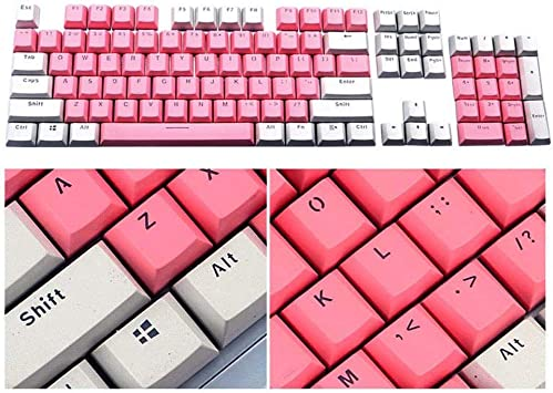 Rziioo PBT Keycaps 104 Keys Cherry MX Switches Key Caps con ...