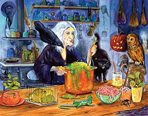 Vermont Christmas Company Witches' Brew Countdown to Halloween Calendar]()