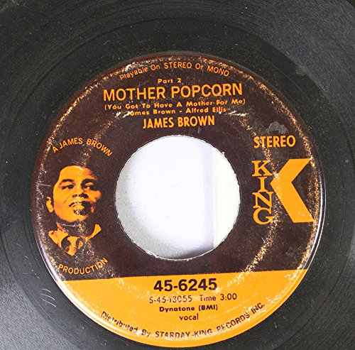 BROWN, James / Mother Popcorn - Part 1 / 45rpm record Original recording