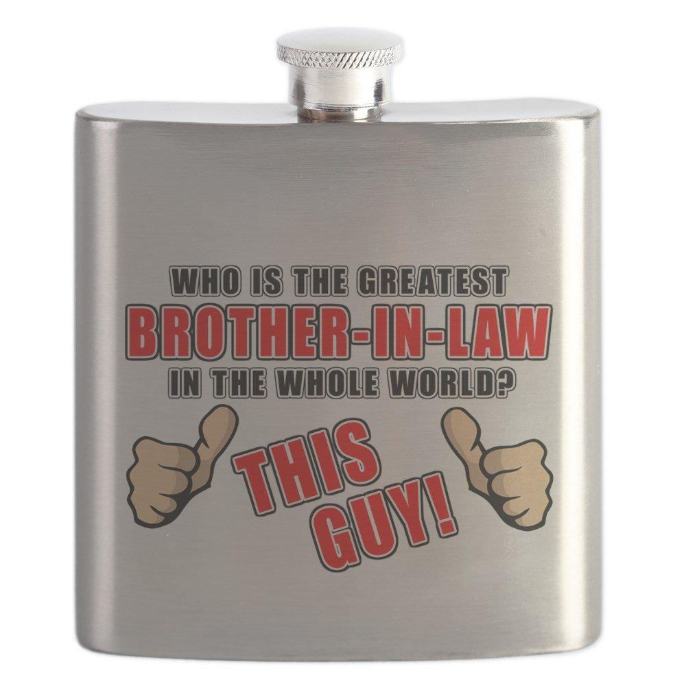 【感謝価格】 CafePress – Greatest brother-in-law Greatest – – brother-in-law ステンレススチールフラスコ、6オンスDrinkingフラスコ B01IUFNT22, アメカジスリーエイト:c55c4d59 --- vezam.lt
