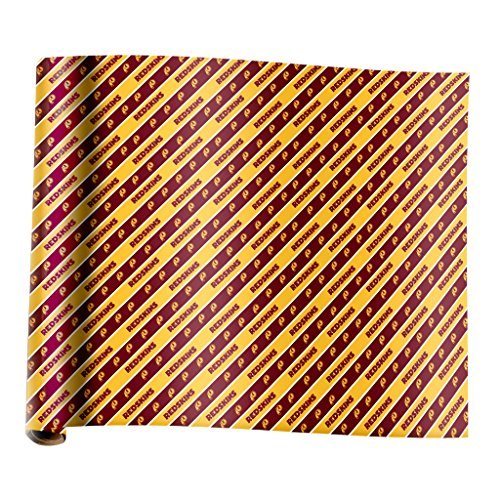 Washington Redskins Team New Wrapping Paper (Team Wrapping Paper)