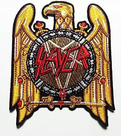 "Vintage Slayer Embroider Patch 3/"""