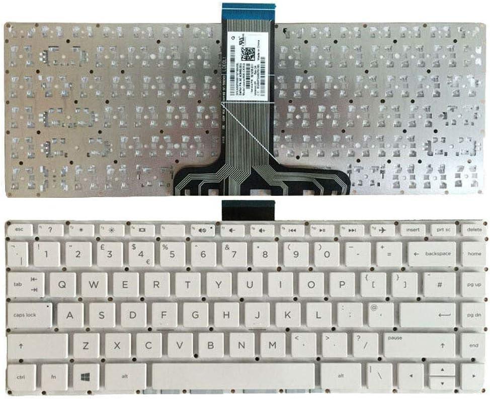 YUHUAI Tastiera di ricambio per computer portatile HP Pavilion 14-AX 14-AX000 14-AX100 NSK-CX3SQ Layout UK
