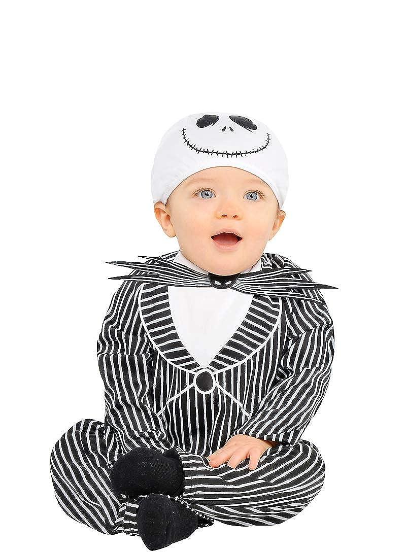 Amazon.com: HalloCostume Baby Jack Skellington Costume - The ...