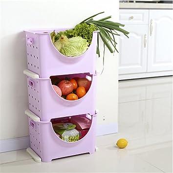 Amazon De Multifunktions Kuchenregal Lagerung Rack Kunststoff