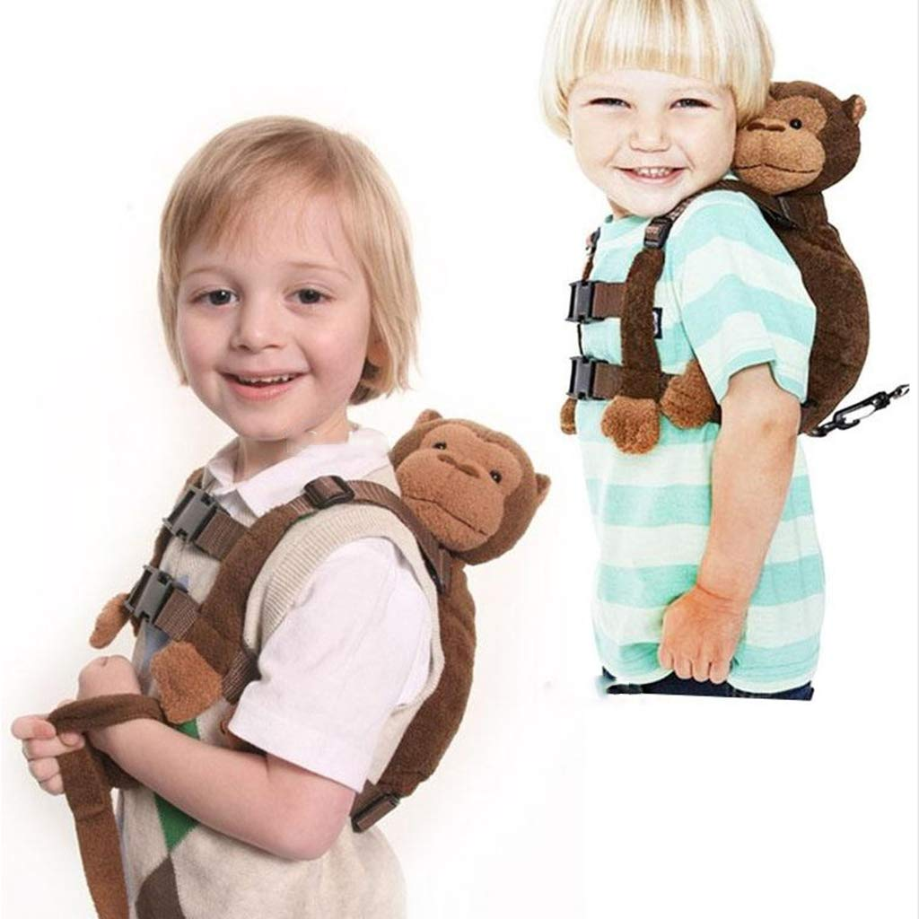 Bee Fityle Baby Kid Safety Harness Toddler Walking Anti-lost Backpack Leash Bag Strap Rein as described