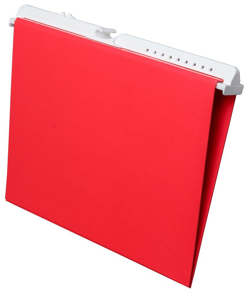 DANZER 519063 pro.file Pendelordner (Pendelringbuch) aus stabilem Karton, System Leitz   Elba, 60mm Rückenbreite, 10 Stück Rot B07DJJRZ5V | Genialität