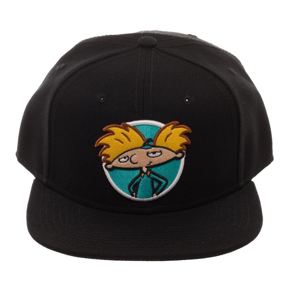8b3e1a93502 Amazon.com  Nickelodeon Rocko s Modern Life Arnold Rugrats Adjustable  Baseball Cap (Black)  Clothing